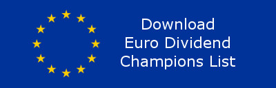 European Flag with Download text